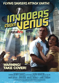 Invaders from Venus : Flying Saucers Attack Earth!